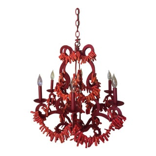 Marjorie Skouras Red Coral Chandelier - More Than 60% Off!