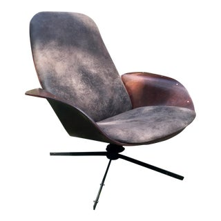"Berthil Bernhardt Refurbuished Mulhauser ""Mr. Chair"" Chair"