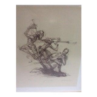 Joie De Vivre Illustration Print