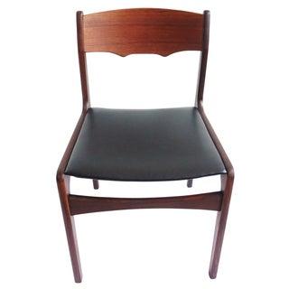 Danish Mid Century Modern Teak Desk Chair