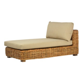 Jumbo Rattan Weave Lounge Chair
