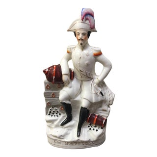 English Staffordshire Emperor Napoleon III Figurine