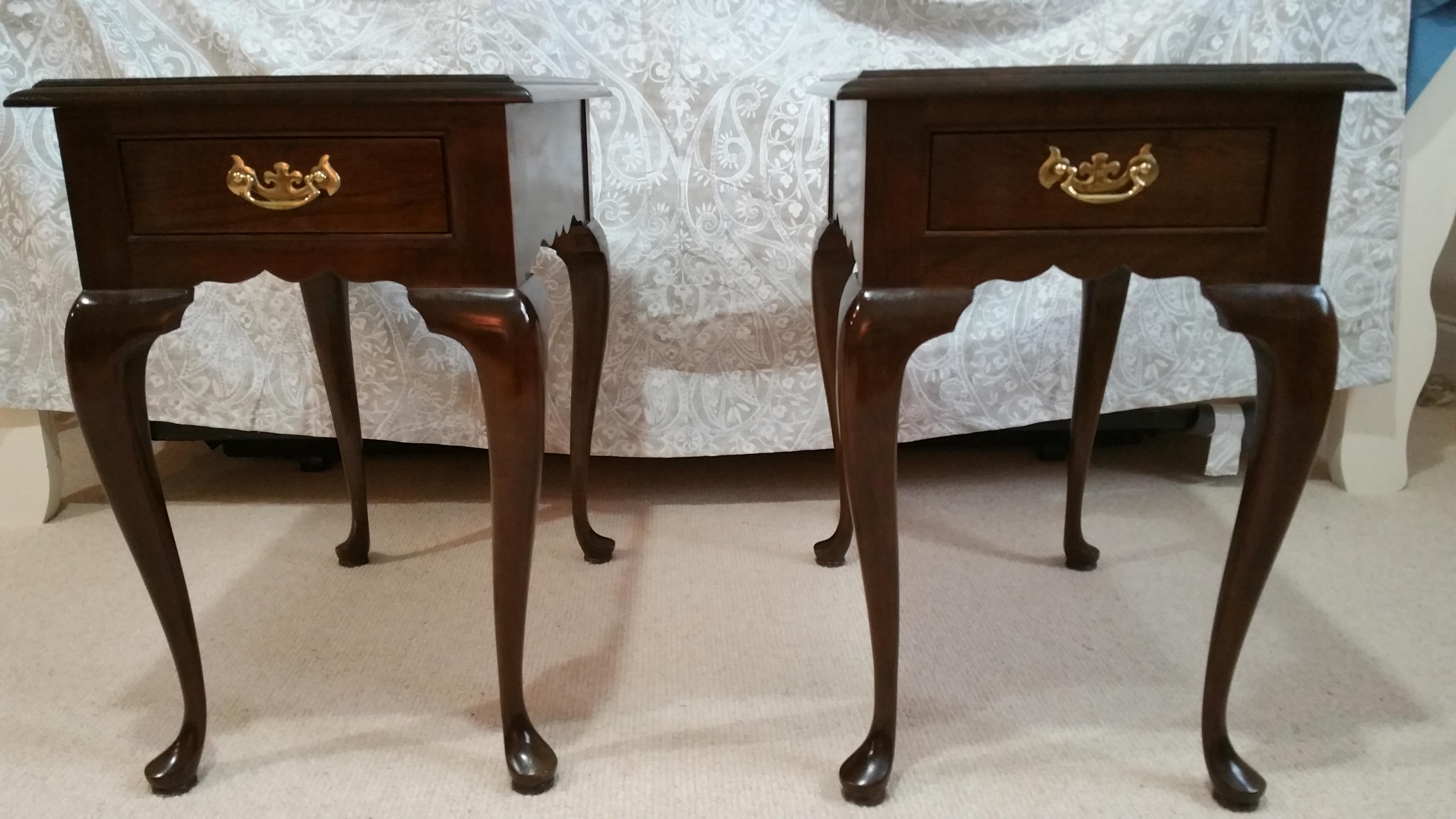 Stickley Cherry Valley Side Tables   A Pair   Image 2 Of 5