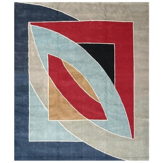 River of Ponds' Carpet by Frank Stella