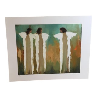 'Let My Love Enfold You' Angel Print