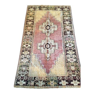 "Antique Anatolian Turkish Maden Rug - 3'9"" x 6'6"""