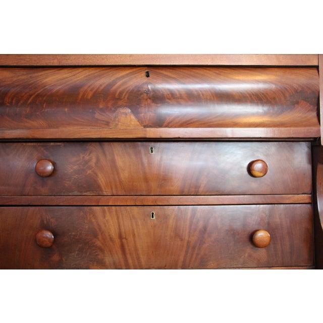 Antique Empire Solid Mahogany Amp Veneer Dresser Chairish