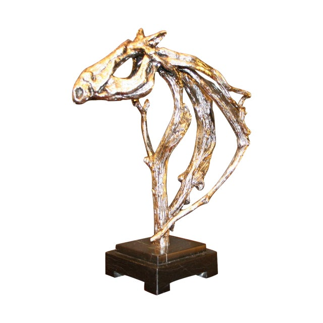 Silver Horse Head Casting - Image 1 of 7