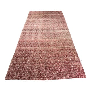 "Turkish Flat Weave Kilim - 4'10"" x 10'5"""