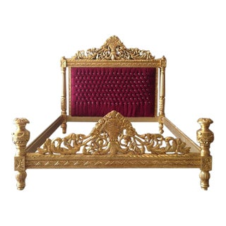 Louis XVI Style Queen Sized Bed Frame