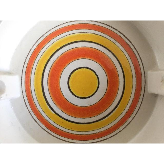 Mid-Century Italian Pottery Ashtray - Image 3 of 5