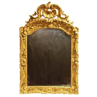 A Regence Period Giltwood Mirror from Provençe