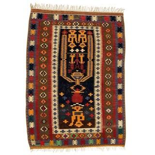 """Anatolian Hand Woven Kilim Rug - 4'6"""" X 6'4"""""""