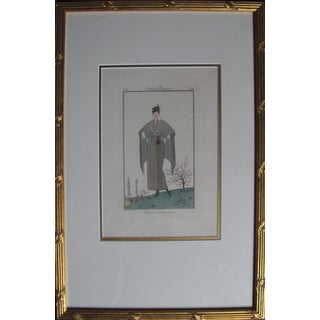 1914 Framed French Poster, Costume d'Excursion