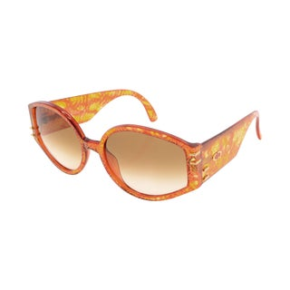 Christian Dior Orange Sunglasses