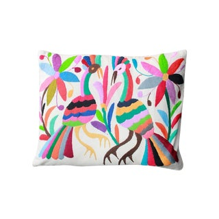 Colorful Tenango Pillows - A Pair
