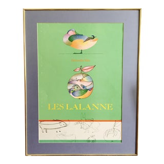 Les Lalanne Alexandre Iolas Vintage Poster