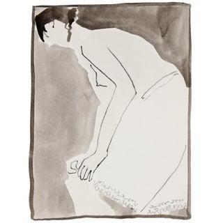 Monochromatic Nude Painting