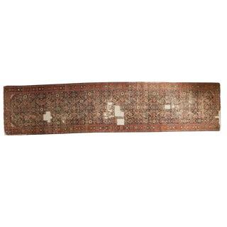 "Distressed Antique Fereghan Rug Runner - 3'4"" x 14'8"""