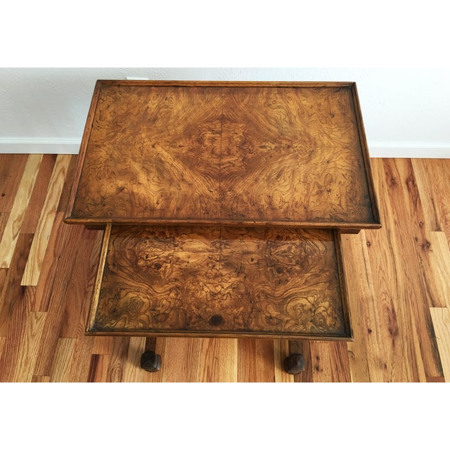 Vintage Drexel Heritage Nesting Tables - A Pair - Image 6 of 9