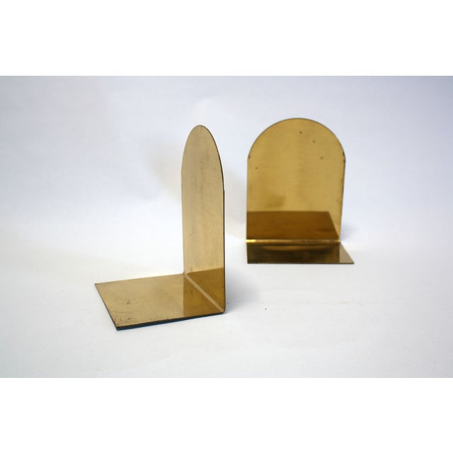 Image of Brass Arch Bookends England