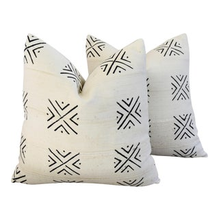 Custom Boho-Chic Mali Tribal Design Pillows - A Pair