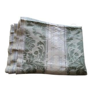 Italian Silk Damask Fabric - 1.5 Yards