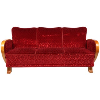 Swedish Art Deco Sofa