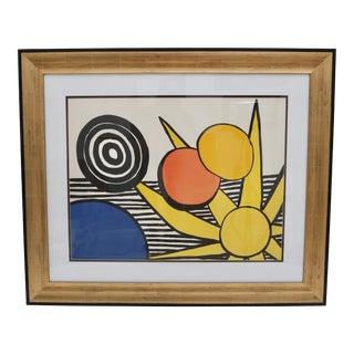 Alexander Calder Sun Burst Lithograph