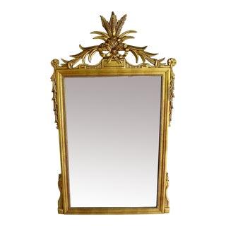 Vintage Acanthus Leaf Gilt Mirror