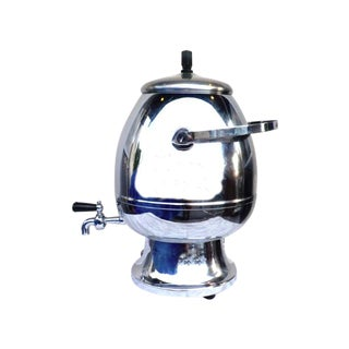 Chrome Coffee Tea Vintage Percolator Warmer