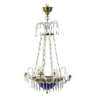 Gustavian Style Five Arm Chandelier