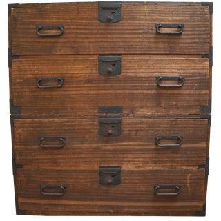 Antique Japanese Tansu Dresser