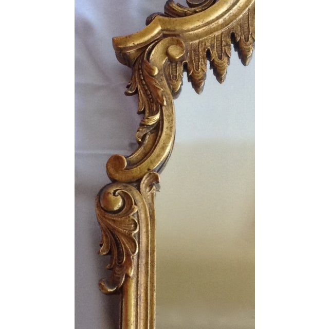 French Gilt Carved Mirror - Image 8 of 10