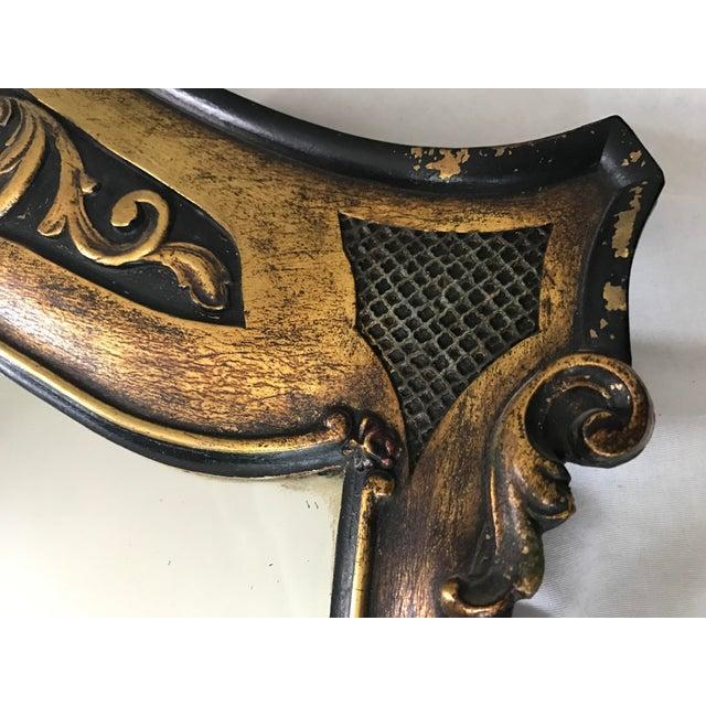 Antique Ebonized Giltwood Mirror - Image 5 of 11