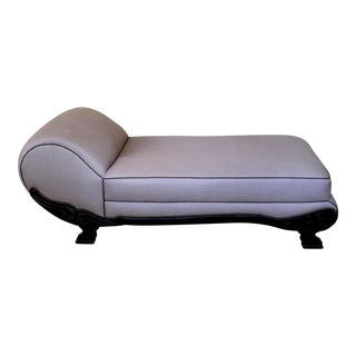 Vintage Neoclassical Style Chaise