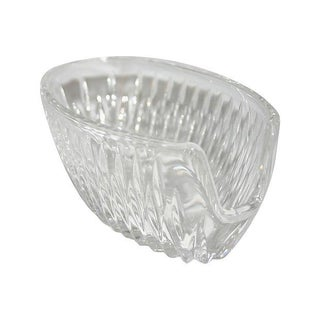 Princess House Crystal Highlights Spoon Holder
