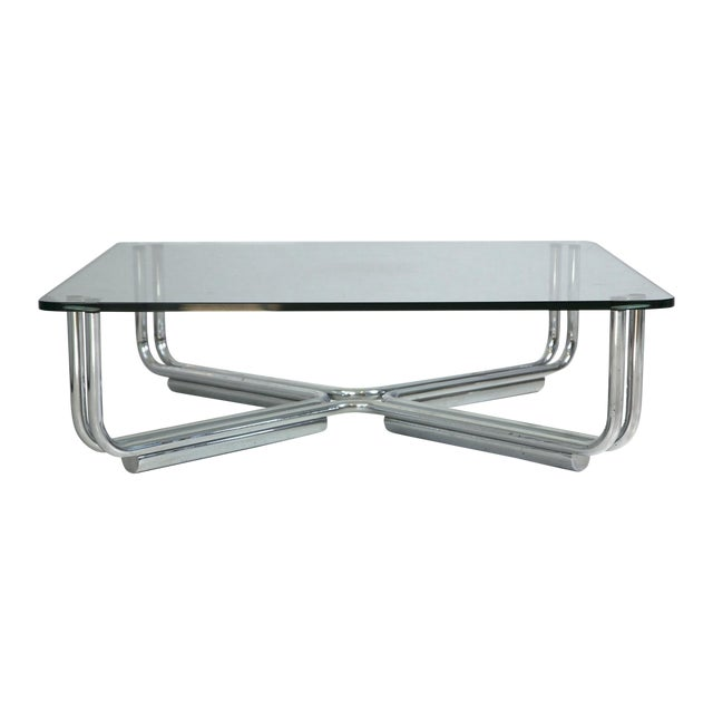 Gianfranco Frattini Cassina Tubular Coffee Table Chairish