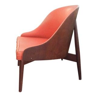 Designer S J Weiner Mid Century Kodawood Chair