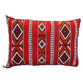 Moroccan Berber Red Diamonds Sham