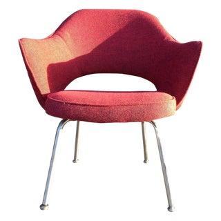 Eero Sarrinen Red Executive Chair