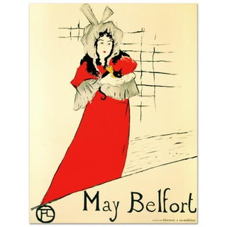 May Belfort Lithograph