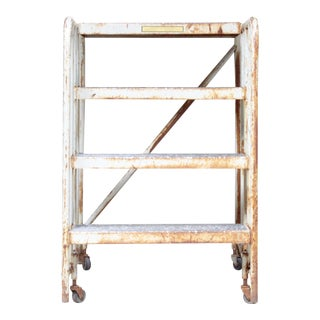 Industrial Steel Step Ladder