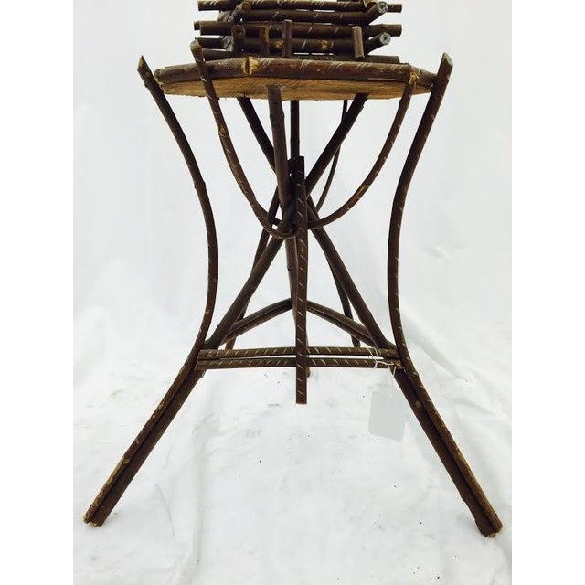 Folk Art Twig Game Table - Image 7 of 7