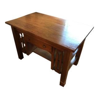 Solid Oak Mission Desk