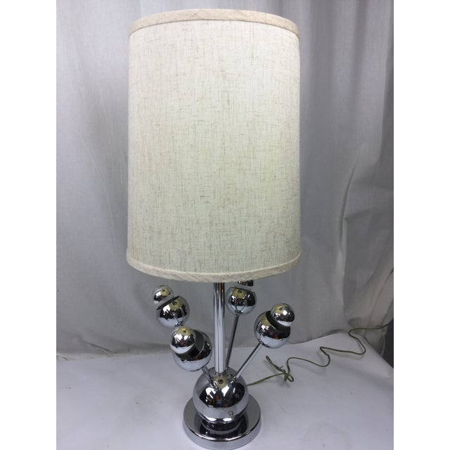 Atomic Chrome Table Lamp - Image 2 of 6