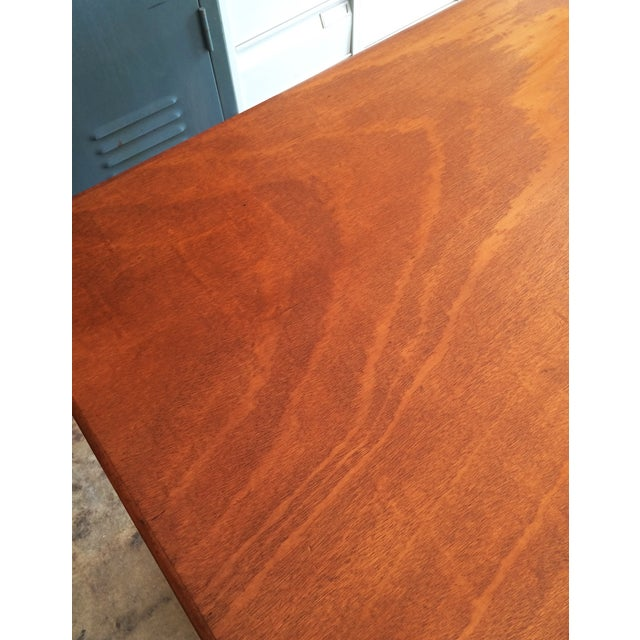 French Art Deco Bistro Dining Table - Image 7 of 11
