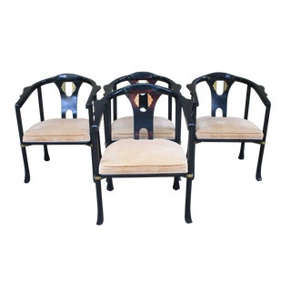 Century Chair Company James Mont Style Ming Chairs - Set of 4