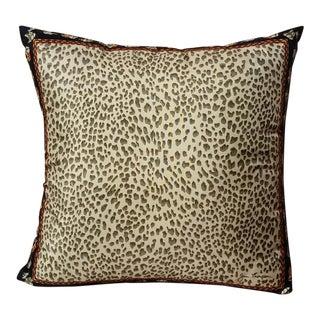 Jim Thompson Silk Leopard Pillow