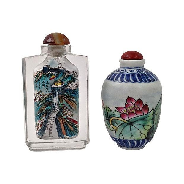 Image of Antique Snuff Bottles - 13